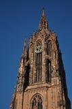 大教堂dom法兰克福德语 库存照片
