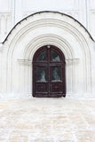 大教堂dormition入口 免版税库存图片