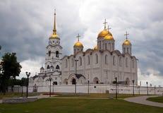 大教堂dormition vladimir 库存照片