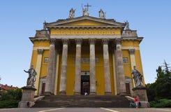 大教堂eger 图库摄影