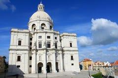 大教堂engracia里斯本圣诞老人 免版税库存照片
