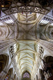 大教堂epine法国 库存图片