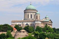 大教堂esztergom匈牙利 免版税库存图片