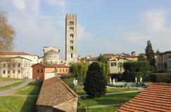 大教堂frediano palazzo pfanner圣 库存照片