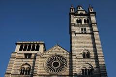 大教堂genova 免版税图库摄影