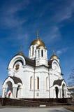 大教堂georgy st 免版税库存图片