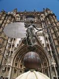 大教堂giralda塞维利亚西班牙 库存图片