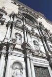 大教堂girona 库存图片