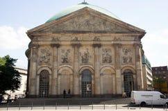 大教堂hedwigs st 库存照片