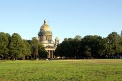 大教堂isaac ・彼得斯堡俄国sainct 库存照片