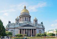 大教堂isaac ・彼得斯堡s圣徒st 俄国 库存图片