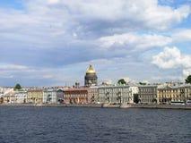 大教堂isaak彼得斯堡俄国s st 免版税库存图片