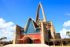 大教堂la Altagracia在多米尼加共和国 库存照片