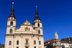 大教堂ludwigsburg 免版税库存图片