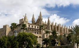 大教堂mallorca palma西班牙 免版税图库摄影