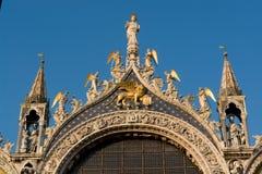 大教堂marco圣・威尼斯 免版税库存照片