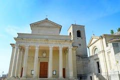 大教堂marino圣 图库摄影