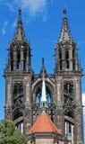 大教堂meissen 库存图片
