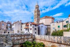 大教堂n分裂,克罗地亚 免版税图库摄影