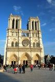 大教堂Notre Dame De巴黎 库存照片