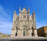 大教堂orvieto 图库摄影
