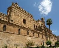 大教堂palermosicily南部的意大利 免版税库存图片