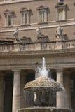 大教堂pietro ・罗马圣 库存图片