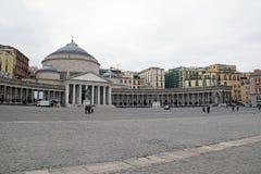 大教堂Reale Pontificia圣弗朗切斯科Di Paola 2 库存照片