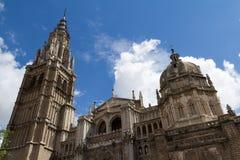 大教堂s托莱多 免版税库存照片