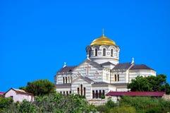 大教堂s st vladimir 图库摄影