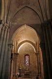 大教堂Sacre Coeur大教堂的内部在巴黎,法国 库存照片