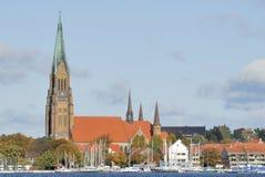 大教堂schleswig 免版税图库摄影