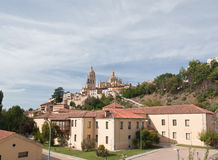 大教堂segovia西班牙 免版税库存图片