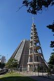 大教堂St.塞巴斯蒂安里约热内卢巴西 库存图片
