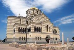 大教堂st vladimir 库存图片