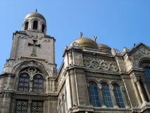 大教堂theotokos瓦尔纳 库存照片