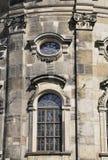 大教堂Trinitatis关闭从德累斯顿在德国 库存图片