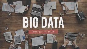 大数据服务器信息技术概念 免版税图库摄影