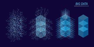 大数据机器学习算法 免版税库存照片