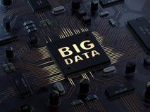 大数据概念 向量例证