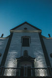 大新教徒的教会 免版税图库摄影