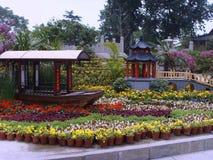 大明湖是中国的济南市 免版税库存图片