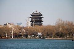 大明湖河  免版税图库摄影