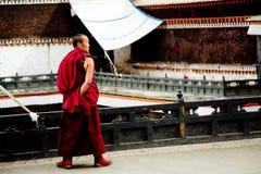 大昭寺寺庙藏传佛教拉萨西藏 免版税库存图片