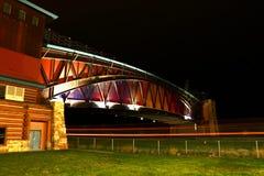 大普拉特河路拱道纪念碑 免版税图库摄影