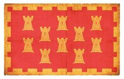 大曼彻斯特郡大英国难看的东西旗子  免版税库存图片