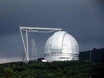 大望远镜方位角 免版税库存照片