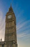 大本钟伦敦,英国 库存图片