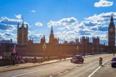 大本钟和威斯敏斯特宫` s美好的建筑学我 库存照片