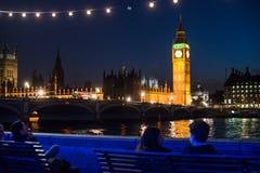 大本钟在伦敦,联合王国 免版税库存图片